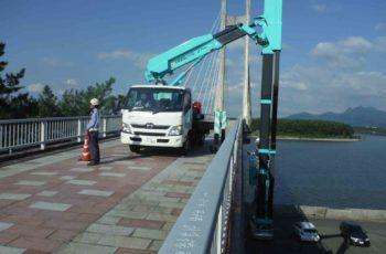 PC斜張橋の補修設計