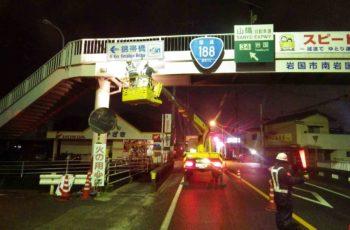 横断歩道橋(32橋)の定期点検