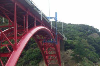アーチ橋の補修設計