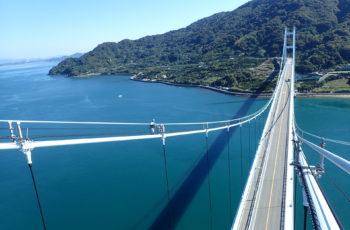 吊橋の定期点検