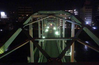 ランガー橋(2橋)の定期点検