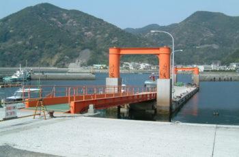 浮桟橋詳細設計(漁港 L30m×B6m×H2.2m)