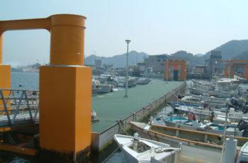 浮桟橋詳細設計(港湾 L60m×B6m×H2.0m)※アルミ製連絡橋
