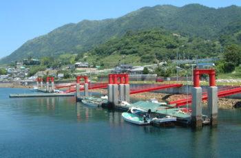 浮桟橋詳細設計(漁港 L25m×B3m×H2.1m)※凸形浮体