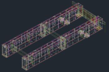 狭小箱桁橋の製作情報処理