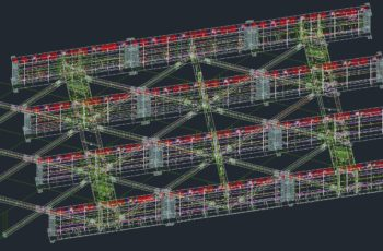 斜張橋の製作情報処理