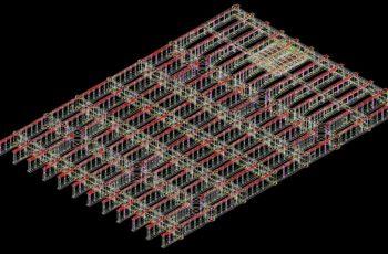 空港滑走路拡張部の製作情報処理